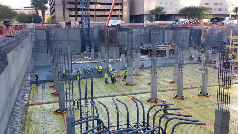 Asu Arizona Center For Law And Society Hardrock Concrete