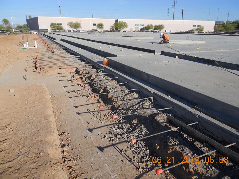 East Group Chandler Freeways Hardrock Concrete