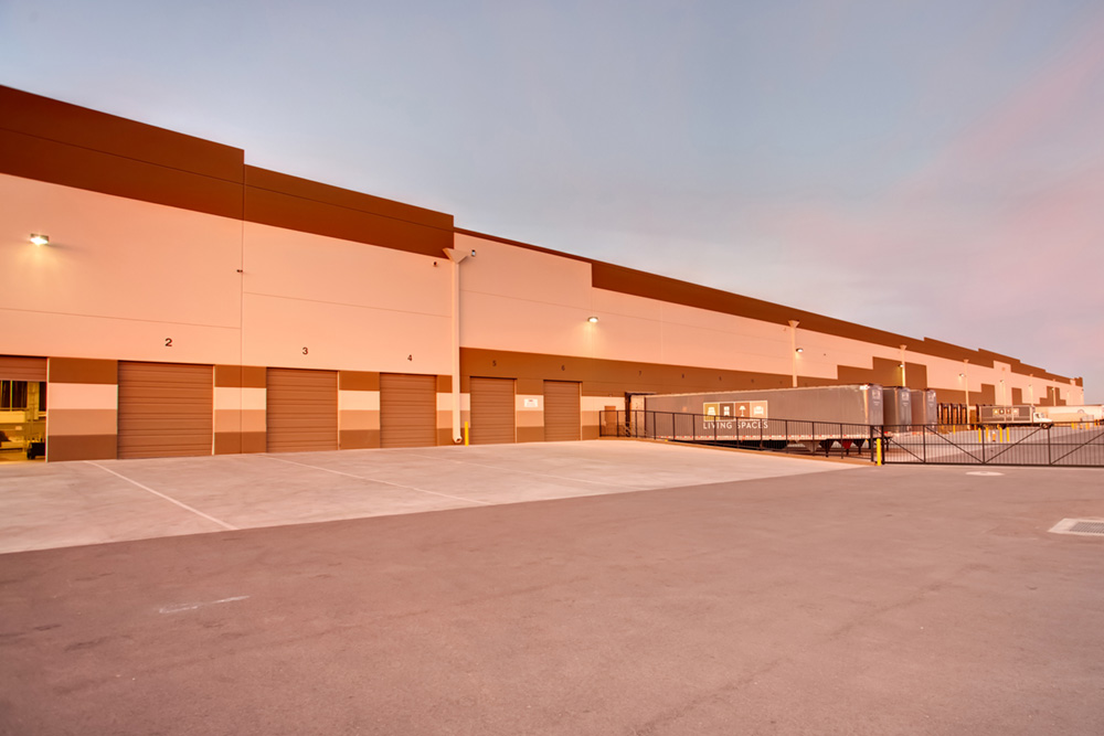 Living Spaces Furniture Retail And Distribution Center