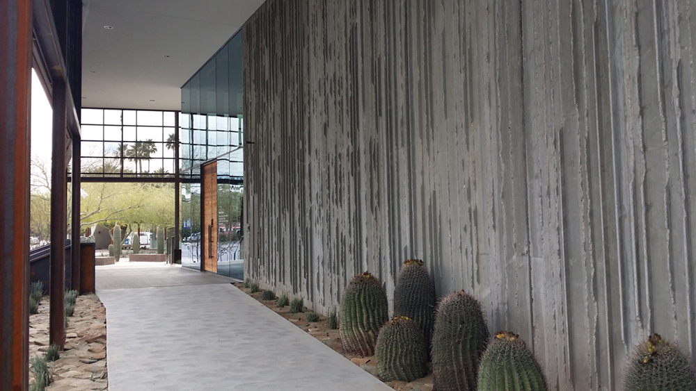 Scottsdale Museum Of The West Hardrock Concrete