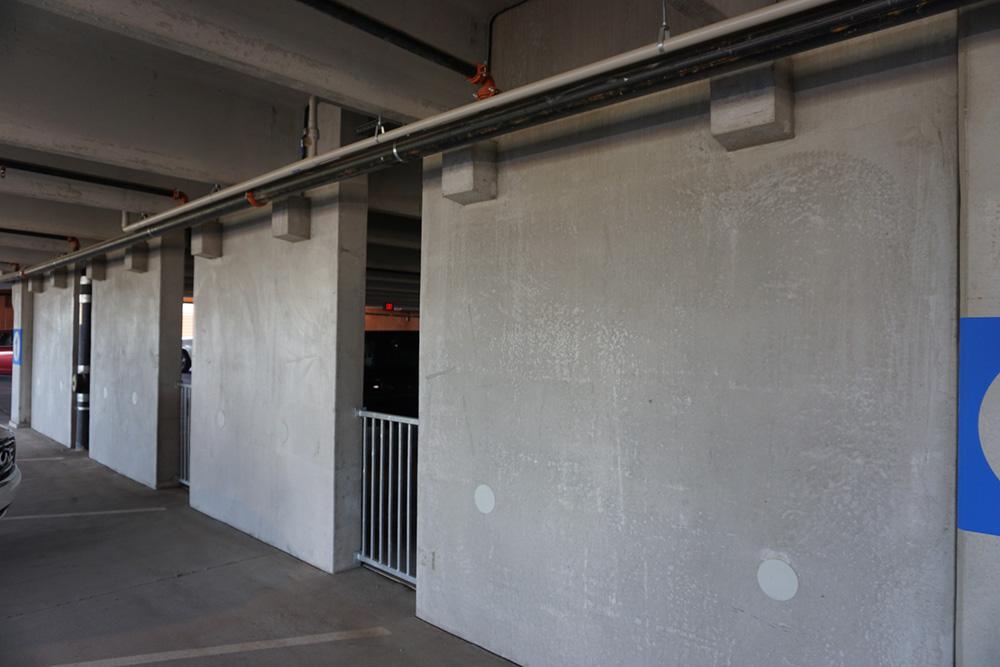 Mwu Parking Garage C Hardrock Concrete