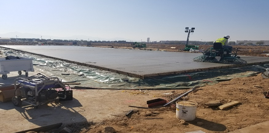 XPO Logistics - Hardrock Concrete